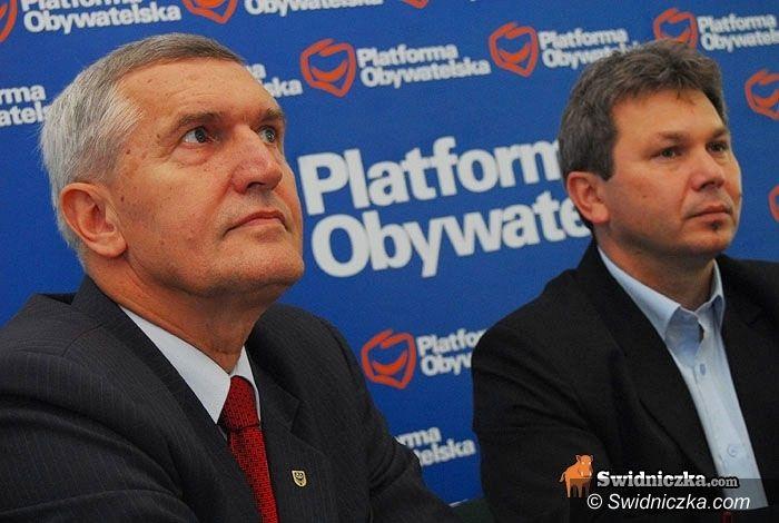 Świdnica: Kandydaci PO na listach