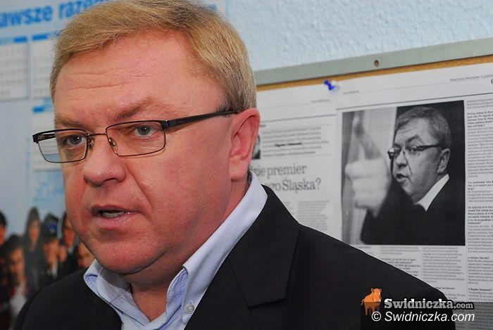 Świdnica: Zbigniew Chlebowski spotka się z dziennikarzami