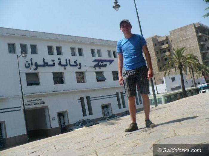 Świdnica/Maroko/Barcelona: Autostopem do Maroko – Piotr wraca do domu