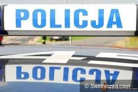 Świdnica-Wrocław: Droga na Wrocław zablokowana