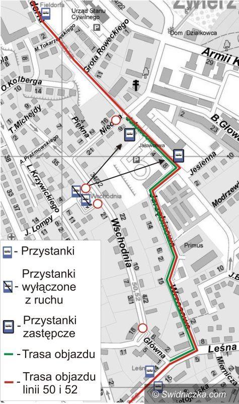Świdnica: Ulica Wschodnia będzie zamknięta
