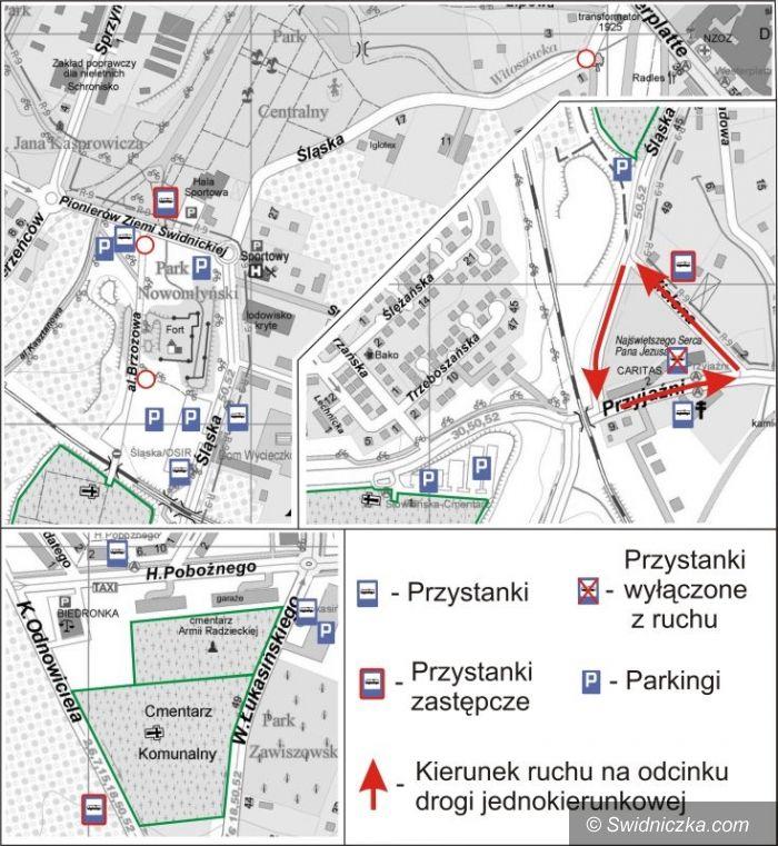 Świdnica: Komunikacja przed dniem Wszystkich Świętych