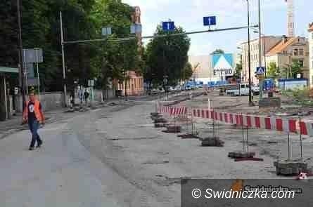 Świdnica: Od poniedziałku ruch dwukierunkowy na Westerplatte