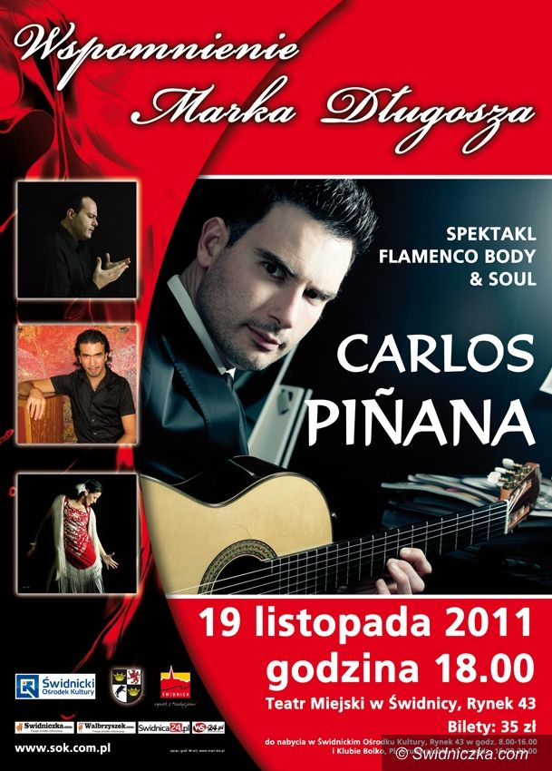 Świdnica: W najbliższą sobotę koncert Carlosa Pinany