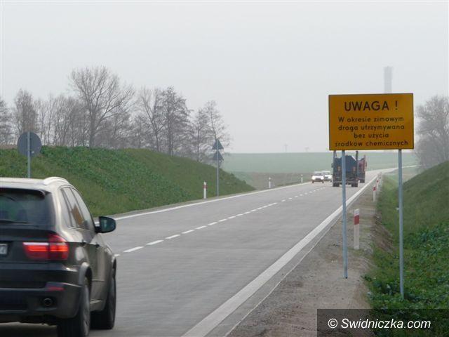 """Świdnica: Zimą szczególnie ostrożnie na """"łączniku"""""""