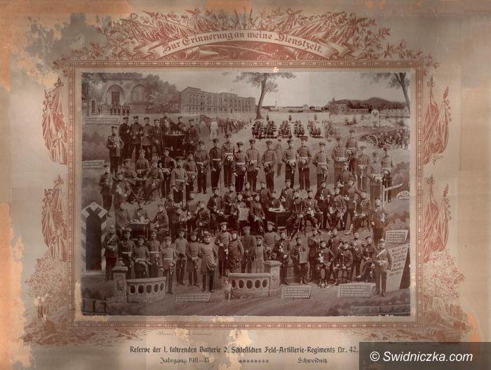Żarów: Odnaleziona fotografia świdnickich artylerzystów z 1913 roku