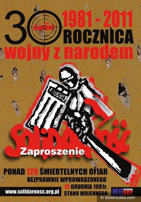 Świdnica: Już jutro 13 grudnia. Obchody rocznicy stanu wojennego w Świdnicy