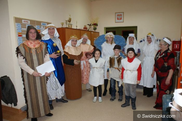 Żarów: Gminne Centrum Kultury i Sportu w Żarowie zorganizowało wigilię