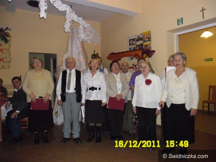 Świdnica: Opłatek z seniorami