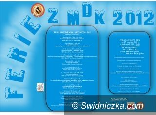 Świdnica: Plan imprez w ramach Akcji Zima 2012