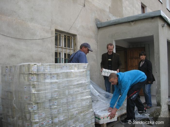 Gmina Żarów: Żywność dla potrzebujących