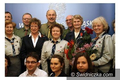 Świdnica: Krzyż Kawalerski... dla druhny Barbary Lechoty