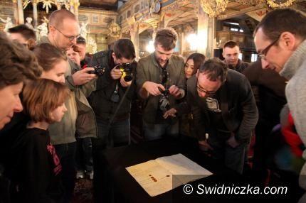 Świdnica: Odzyskany skrawek historii w Kościele Pokoju