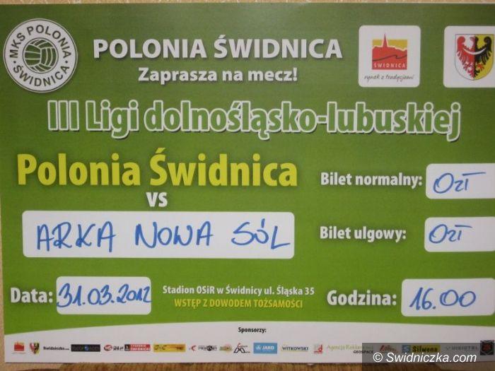 III-liga piłkarska: Polonia: Arka: Walka o pierwsze wiosenne zwycięstwo!