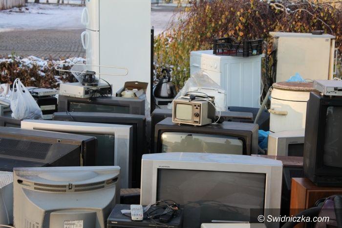 Świdnica: Tony elektrośmieci przekazane do utylizacji