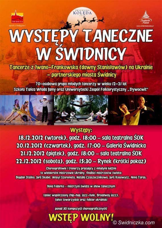 Świdnica: Tancerze z Ukrainy wystąpią w Świdnicy