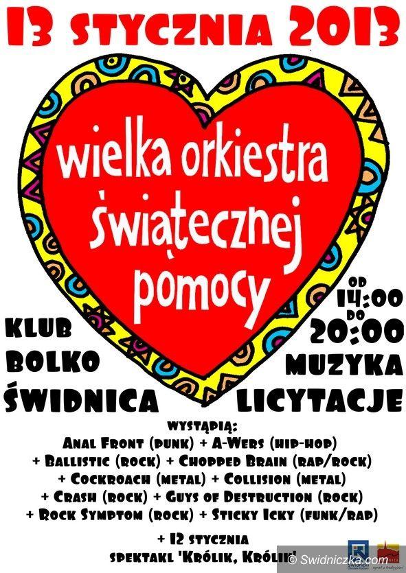 Świdnica: WOŚP w Świdnicy – Wieża Ratuszowa na licytację i wiele innych atrakcji