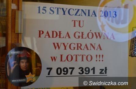 Wałbrzych: Główna wygrana w Lotto w Wałbrzychu
