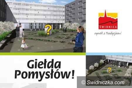 Świdnica: Pomysły mieszkańców na skwer przy ul. Franciszkańskiej do analizy