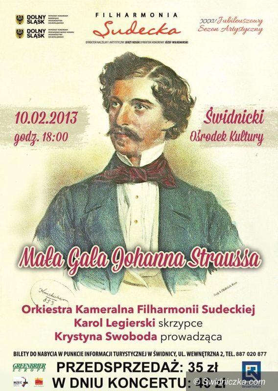 Świdnica: Mała Gala Johanna Straussa na zakończenie karnawału w Świdnicy