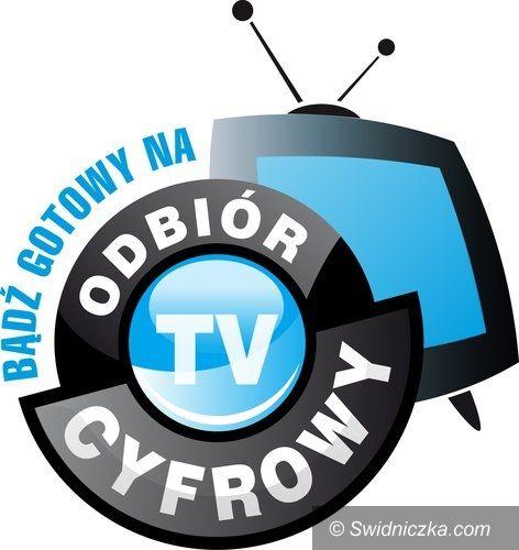powiat świdnicki: Cyfryzacja – 22 kwietnia wyłączą sygnał analogowy