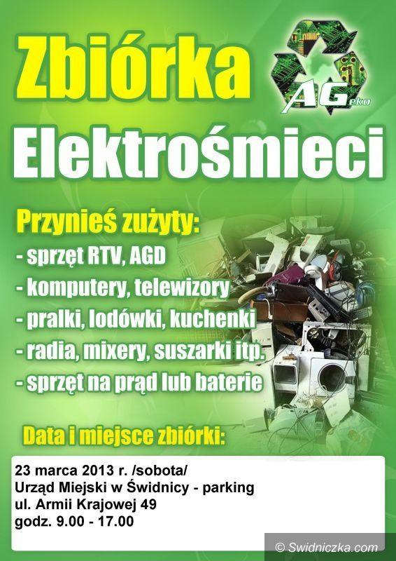 Świdnica: Wiosenna zbiórka elektrośmieci w Świdnicy