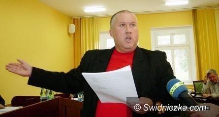 Wałbrzych: Mocne słowa radnego Rosiaka podczas sesji powiatu wałbrzyskiego