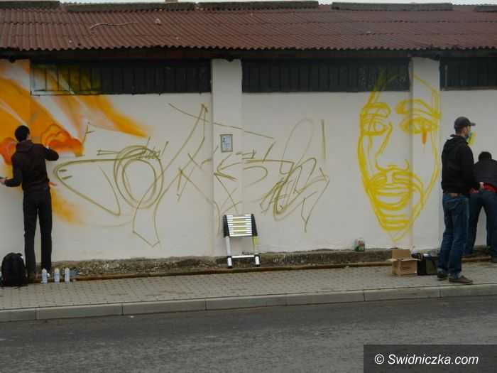 Strzegom: Strzegomska ściana graffiti wystartowała