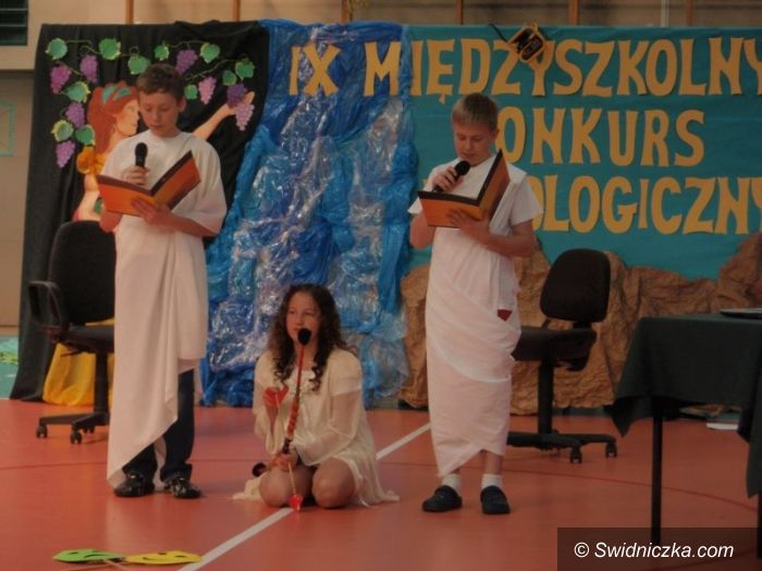 Świdnica: IX Międzyszkolny Konkurs Mitologiczny w SP 1
