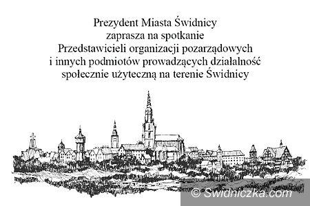 Świdnica: Prezydent spotka się z organizacjami pozarządowymi