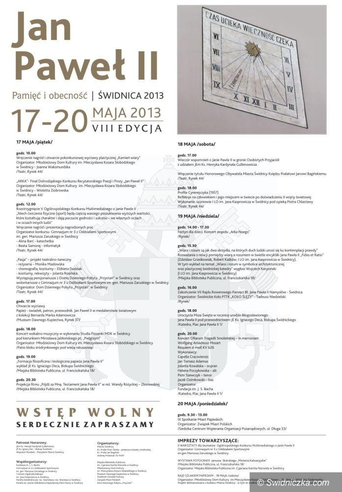 Świdnica: Dni Papieskie 2013