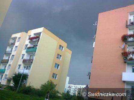 Dolny Śląsk: Uwaga! – możliwe burze z gradem