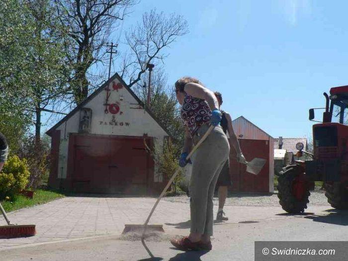 Panków: Wiosenne porządki w sołectwie