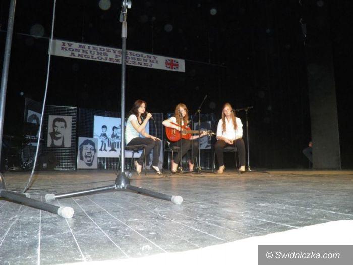 Świdnica: Śpiewali piosenki w języku angielskim