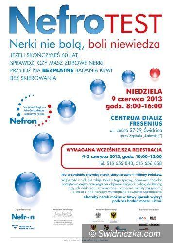 Świdnica: Bezpłatne badania pod kątem chorób nerek
