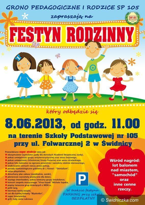 Świdnica: Zapraszamy na Festyn Rodzinny w SP 105