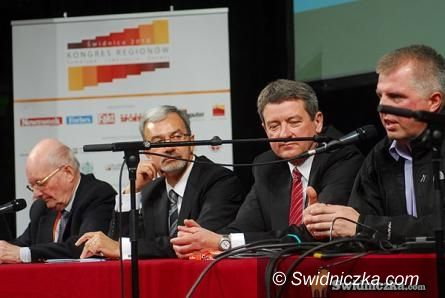 Świdnica: Przesłanie od Prezydenta Komorowskiego do uczestników Kongresu Regionów; znamy zwycięzców kolejnych rankingów