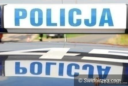 Wałbrzych: Spadł z dachu prosto na policyjny radiowóz