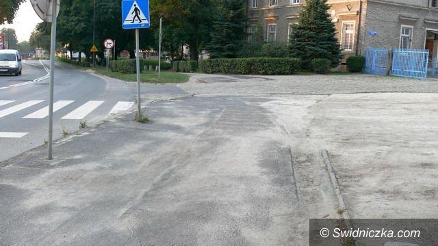 Strzegom: Nowe chodniki w Strzegomiu