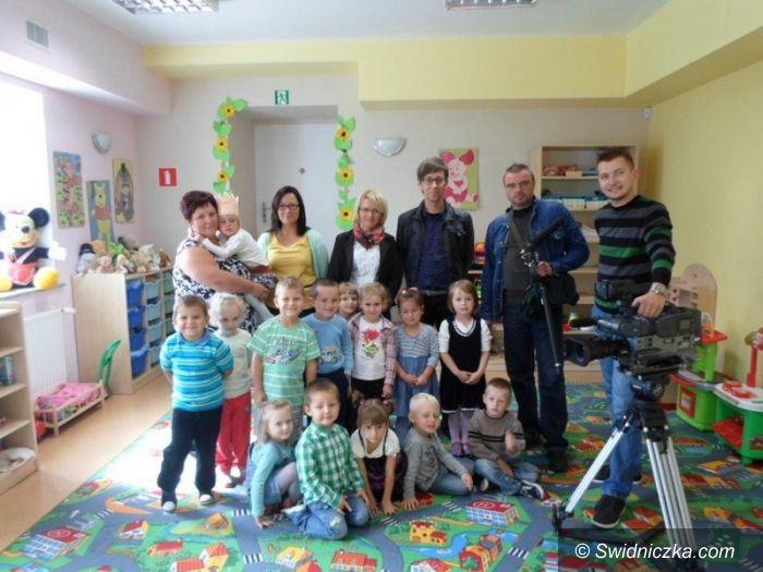 Gmina Dobromierz: Telewizja w przedszkolach