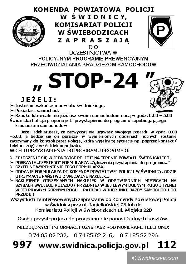 powiat świdnicki: STOP 24