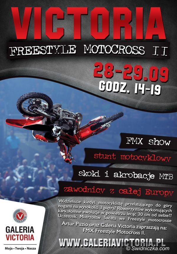 Wałbrzych: II edycja Freestyle Motocross w Galerii Victoria!