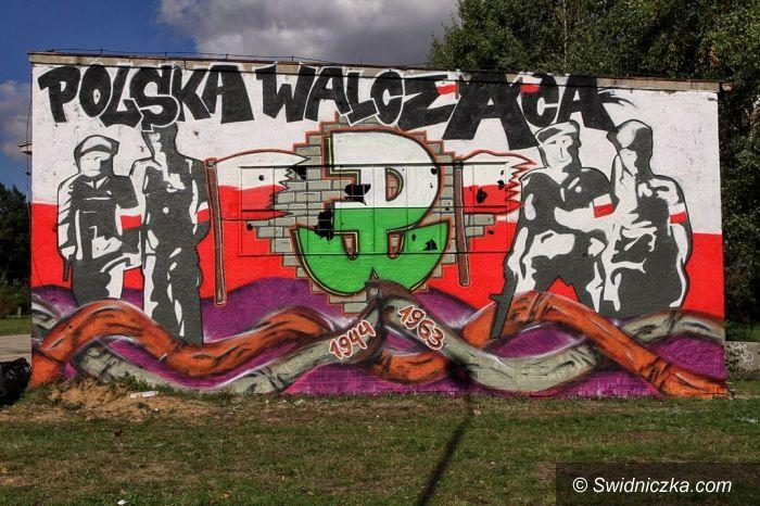 Świdnica: Ogromny mural ozdobił Świdnicę