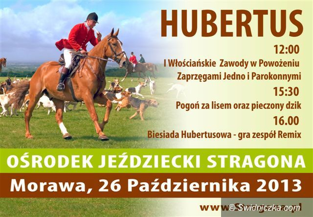 Morawa: Stragona zaprasza na Hubertusa