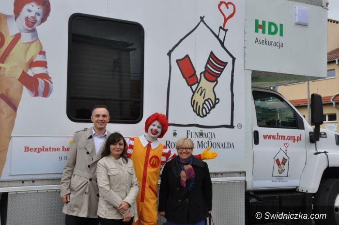 Gmina Świdnica: Wójt Teresa Mazurek pomagała w badaniach
