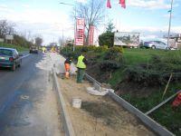 Marcinowice: Trwa budowa chodnika w Marcinowicach