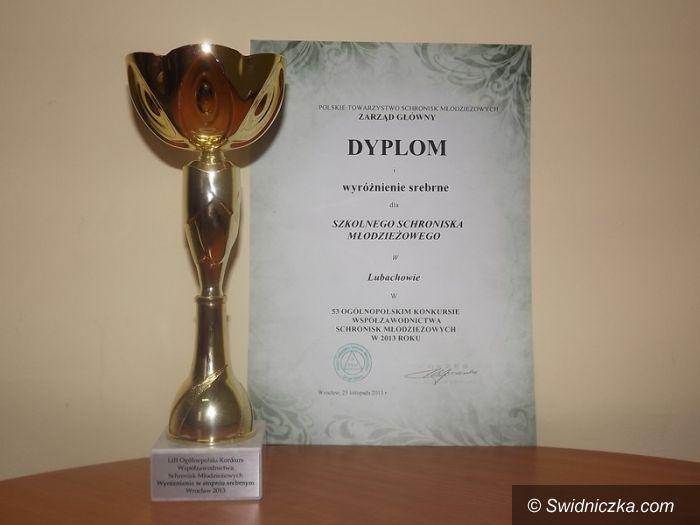 Lubachów: Srebrne wyróżnienie dla Szkolnego Schroniska Młodzieżowego w Lubachowie