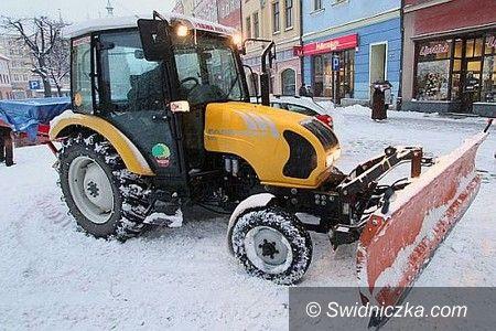Świdnica: Akcja zima w Świdnicy trwa