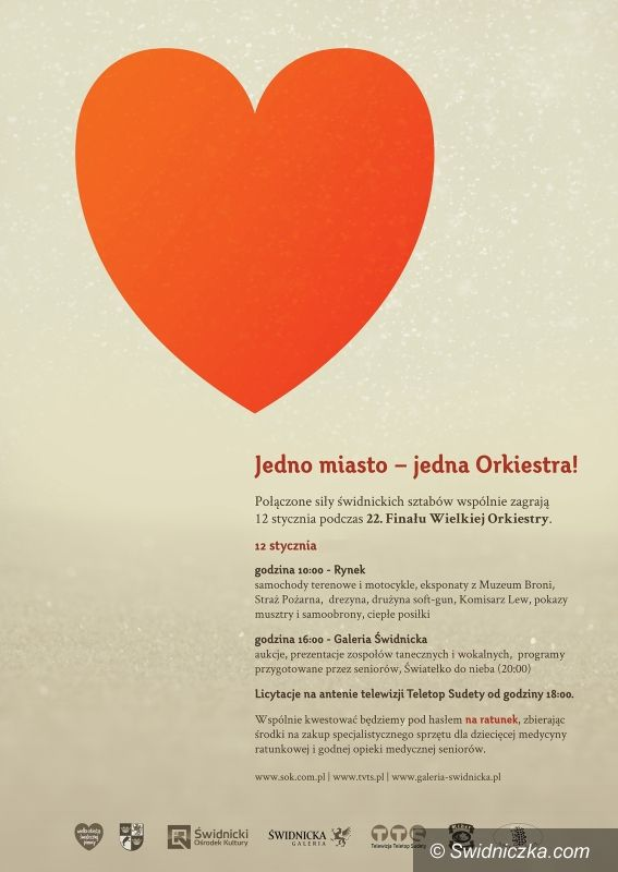 Świdnica: WOŚP – świdnicka Orkiestra na ostatniej prostej