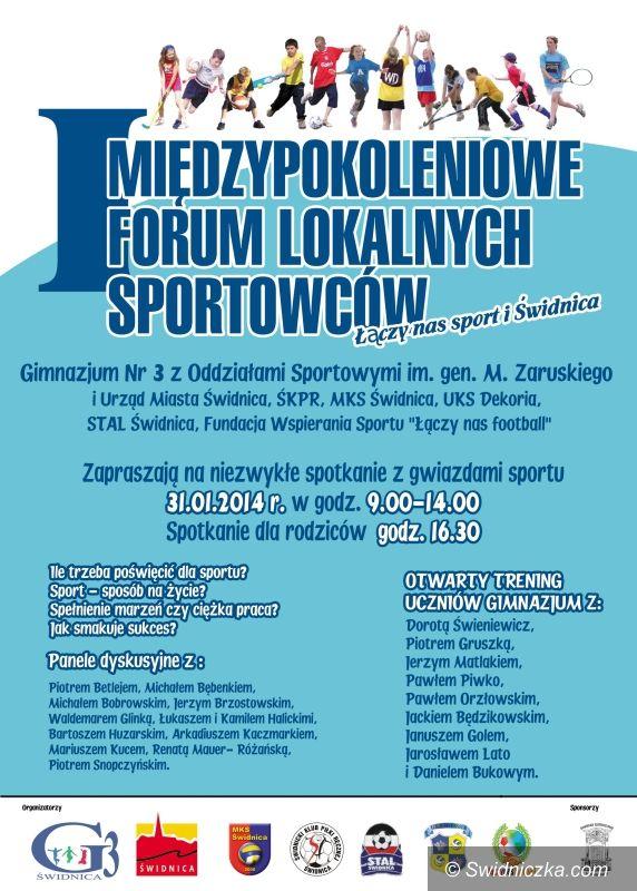 Świdnica: Polscy sportowcy powalczą z młodzieżą na treningach i... panelach dyskusyjnych